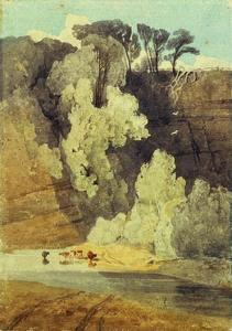 On the River Greta, Yorkshire by John Sell Cotman