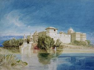 Perawa Palace, Malwa, Central India by John Sell Cotman