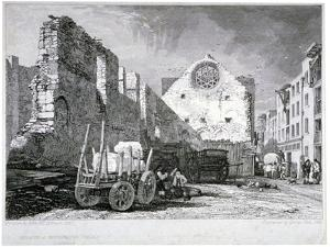 Ruins of the Bishop of Winchester's Palace, Southwark, London, 1828 by John Sell Cotman