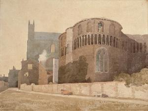 St. Luke's Chapel, Norwich Cathedral, 1808 by John Sell Cotman