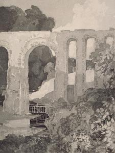 Telford's Aqueduct by John Sell Cotman
