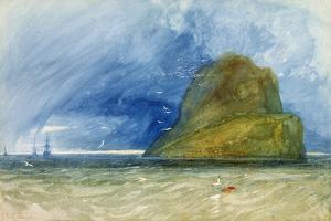 The Bass Rock, Scotland, C.1833-35 by John Sell Cotman