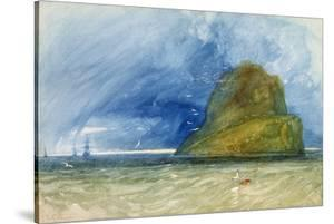 The Bass Rock, Scotland, C.1833-35 by John Sell Cotman