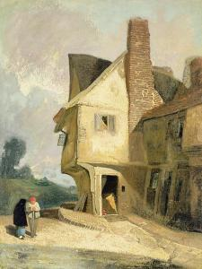 The Old House at St. Albans, C.1806 by John Sell Cotman