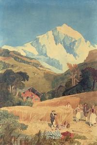 View of the Jungfrau-Horn, 1809 by John Sell Cotman