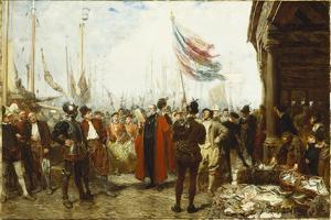 The Call to Arms, 1894 by John Seymour Lucas