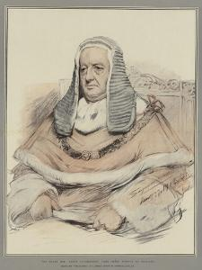 The Right Honourable Baron Alverstone, Lord Chief Justice of England by John Seymour Lucas