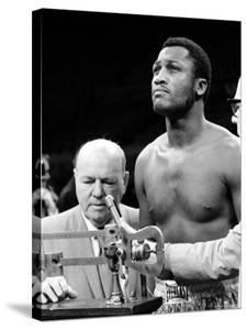 Boxer Joe Frazier at the Weigh in for His Fight Against Muhammad Ali by John Shearer