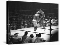 Boxer Muhammad Ali Training for a Fight Against Joe Frazier-John Shearer-Premier Image Canvas