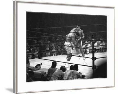Joe Frazier Vs. Mohammed Ali at Madison Square Garden