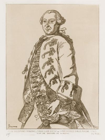 John Sigismund Pfinzing, State Councilor of the Empress of Germany, 1763--Giclee Print