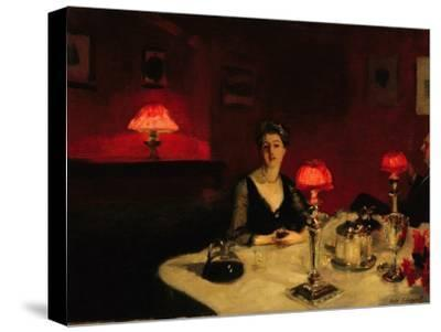 A Dinner Table at Night, 1884