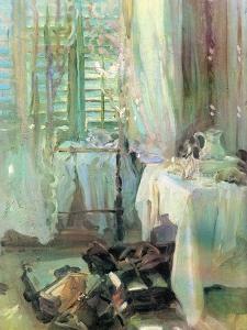 A Hotel Room, 1900 by John Singer Sargent