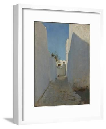 A Moroccan Street Scene, 1879-1880