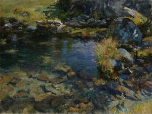 Alpine Pool, 1907 by John Singer Sargent
