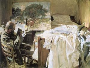 Artist in His Studio, 1903 by John Singer Sargent