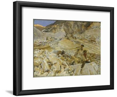 Bringing Down Marble from the Quarries to Carrara, 1911