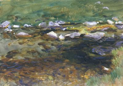 Brook and Meadow, c.1907