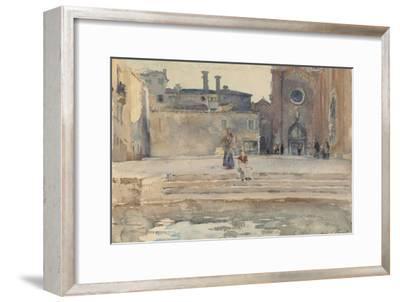 Campo dei Frari, Venice, 1880-82