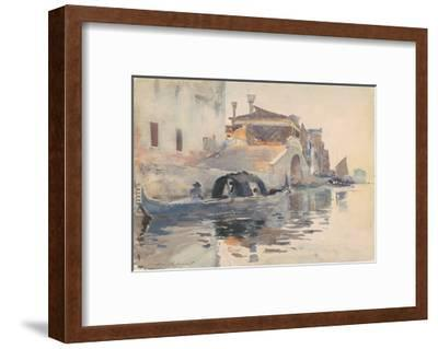 Canal Scene, Ponte Panada, Fondamenta Nuove, Venice, c.1880-82