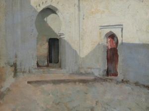 Courtyard, Tetuan, Morocco, 1879-80 by John Singer Sargent