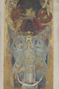 Design for Boston Public Library, 1890-4 by John Singer Sargent