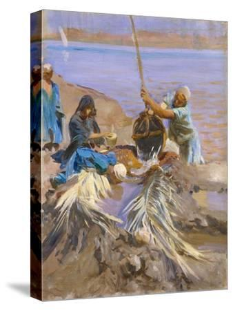 Egyptians Raising Water from the Nile, 1890-91
