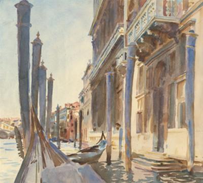 Gondola Moorings on the Grand Canal, 1904/07