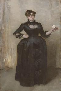 Lady with the Rose (Charlotte Louise Burckhardt), 1882 by John Singer Sargent