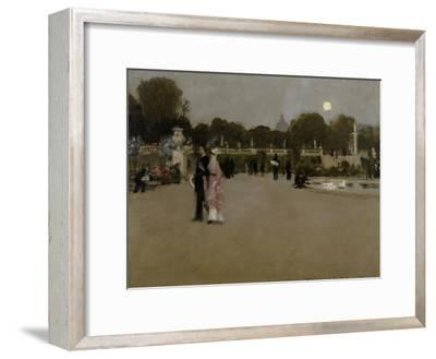 Luxembourg Gardens at Twilight, 1879