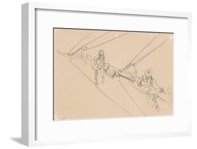 Men on a Spar, c.1876