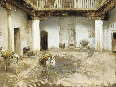 Moorish Courtyard, 1913