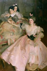 Mrs. Carl Meyer, Later Lady Meyer, and Her Two Children, 1896 by John Singer Sargent