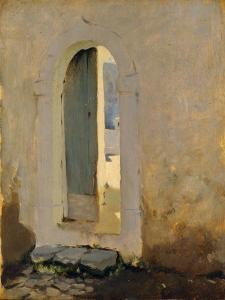 Open Doorway, Morocco, 1879-80 by John Singer Sargent
