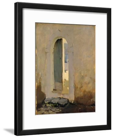 Open Doorway, Morocco, 1879-80