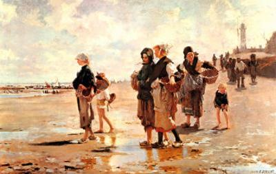 Oyster Gatherers of Cancale, 1878 by John Singer Sargent