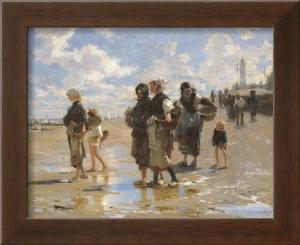 Oyster Gatherers of Cancale by John Singer Sargent