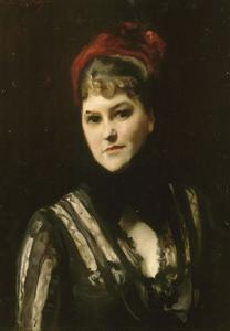 Portrait de Mrs Katharine Moore, née Robinson (1846-1917) by John Singer Sargent