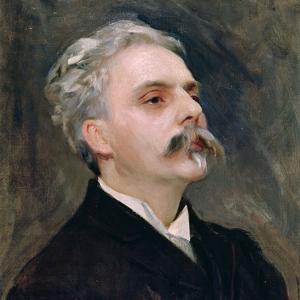 Portrait of Gabriel Faure (1845-1924) by John Singer Sargent