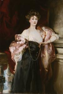 Portrait of Lady Helen Vincent, Viscountess D'Abernon, 1904 by John Singer Sargent
