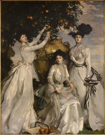 Portrait of the Acheson Sisters, 1902