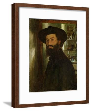 Portrait of the Artist Alberto Falchetti (1878-1951)