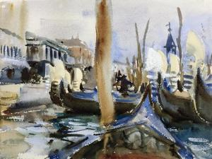 Riva Degli Schiavoni, Venice by John Singer Sargent