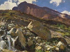 Simplon Pass, 1911 by John Singer Sargent