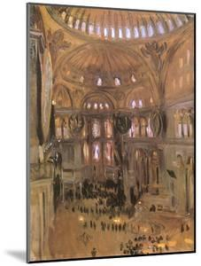 Sketch of Santa Sophia, 1891 by John Singer Sargent