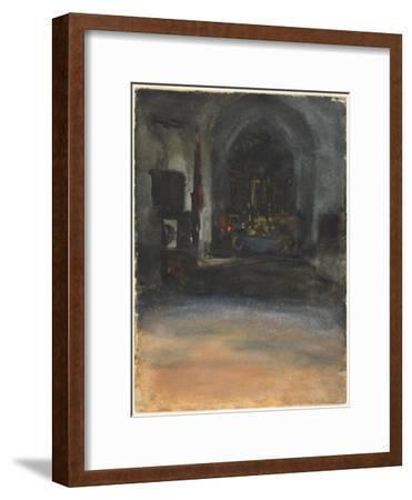 Spanish Church Interior, c.1880