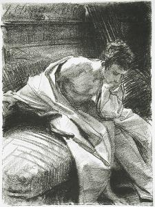 Study of a Young Man Seated, 1895 by John Singer Sargent