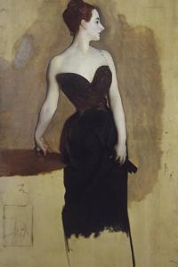 Study of Mme Gautreau by John Singer Sargent