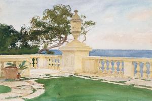 Terrace, Vizcaya, 1917 by John Singer Sargent
