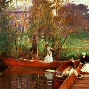The Boating Party, 1889 by John Singer Sargent